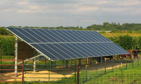 Bridgeview Farms in Zumbrota harvesting solar power to reduce energy costs