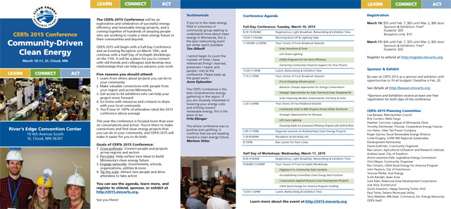 Download CERTs 2015 Conference Brochure