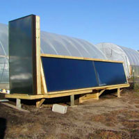 RREAL solar thermal air heat collectors