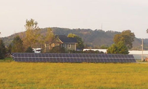 Hill Vue Farm in Rushford upgrades solar to cover energy needs