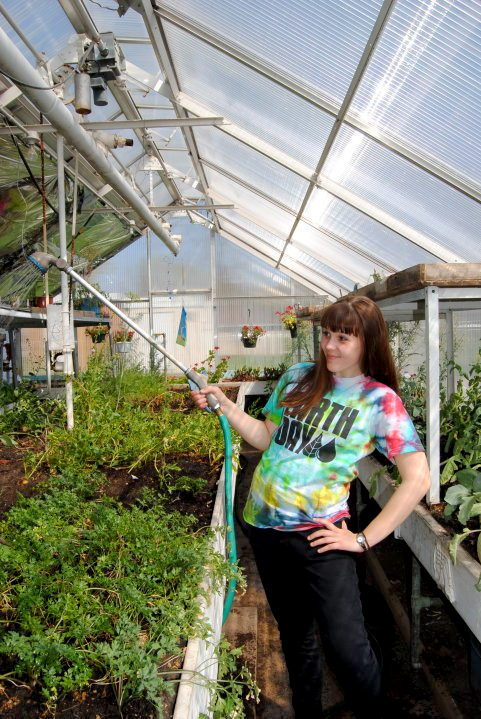Willmar Senior High School greenhouse project