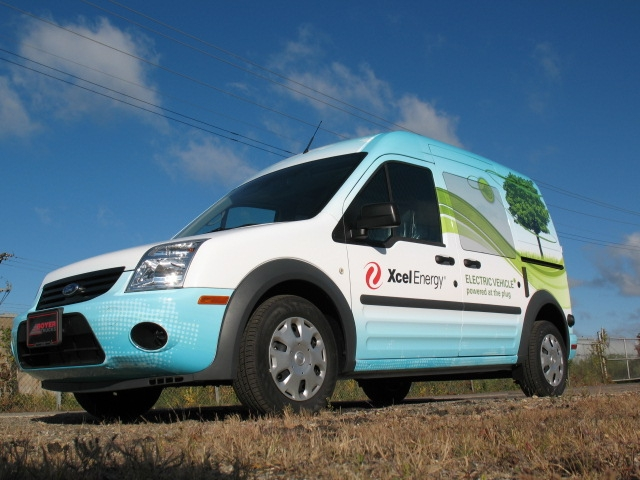 Xcel Energy's Ford Transit Connect