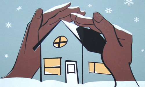 Keep your home warm and cozy with an energy audit and weatherization work