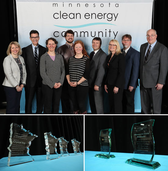 Clean Energy Community Award winners
