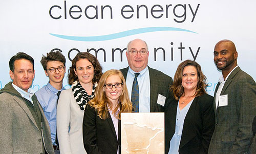 Award recipients from the 2016 Clean Energy Community Awards