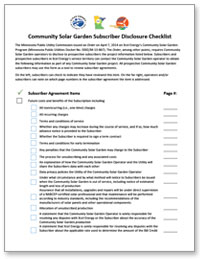 Download the Disclosure Checklist