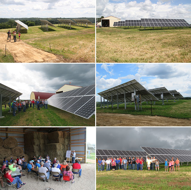 Sunshine Now Producing Electricity At Enchanted Meadows