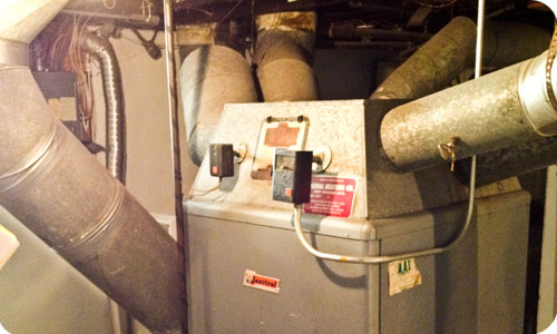 If your furnace looks like this it may be time for an upgrade