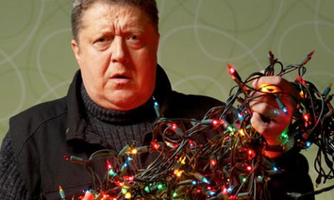 Recycle that old tangle of lights