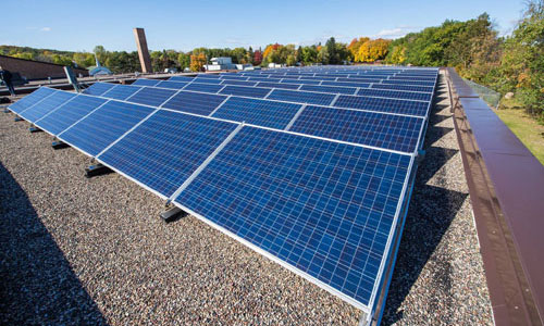 School solar installation in Minnesota | Photo by IPS Solar