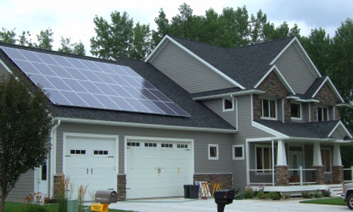 8.5kW Winona residential solar installation by Innovative Power Systems in 2010