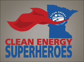 Clean Energy Superheroes
