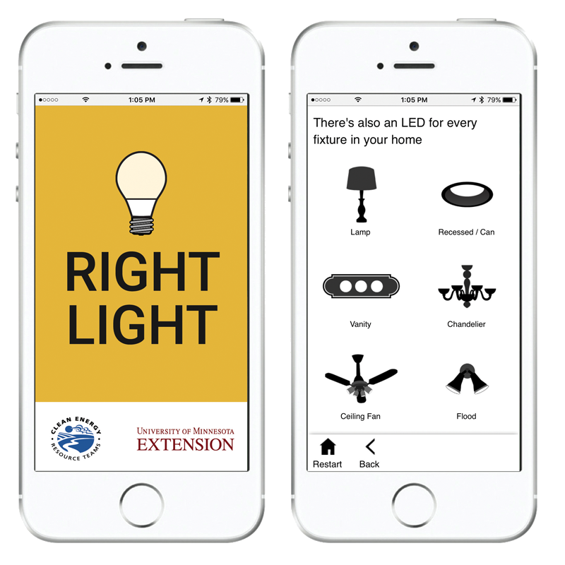 Use the Right Light app