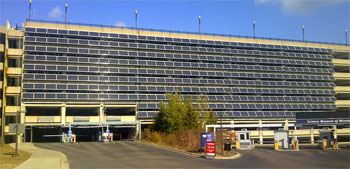 Solar PV on the RiverCentre Parking Garage