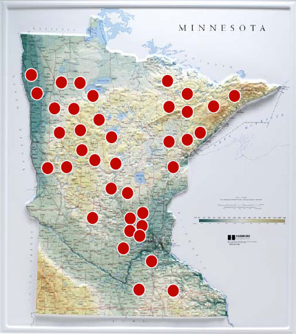 Solar Assistance Program installation locations