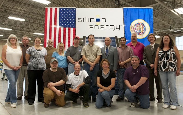 Silicon Energy staff