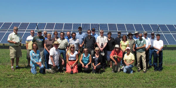 Touring Minnesota S Largest Solar Pv Installation In
