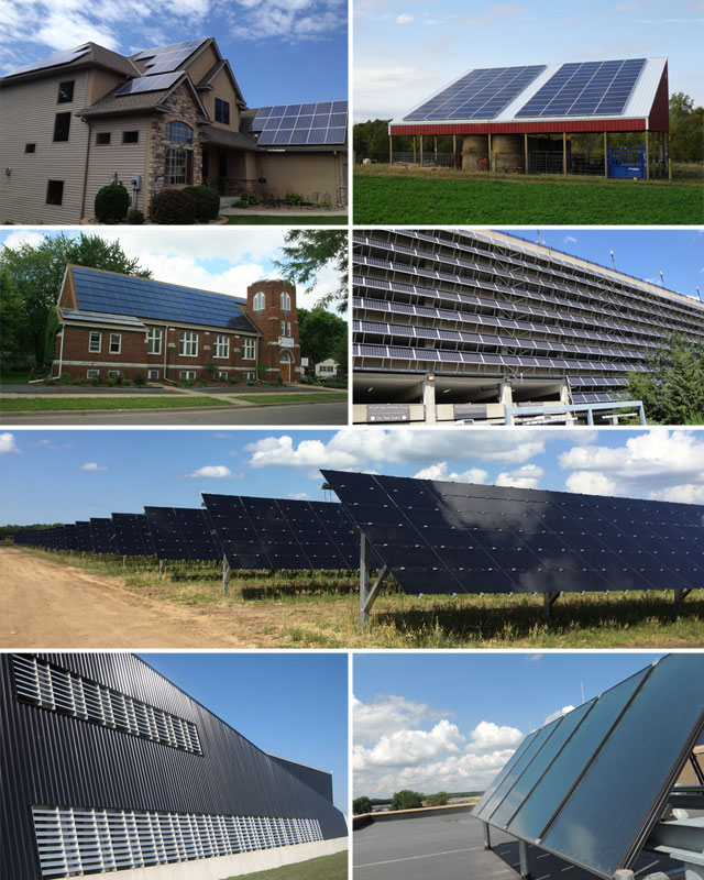 Solar installations in Minnesota