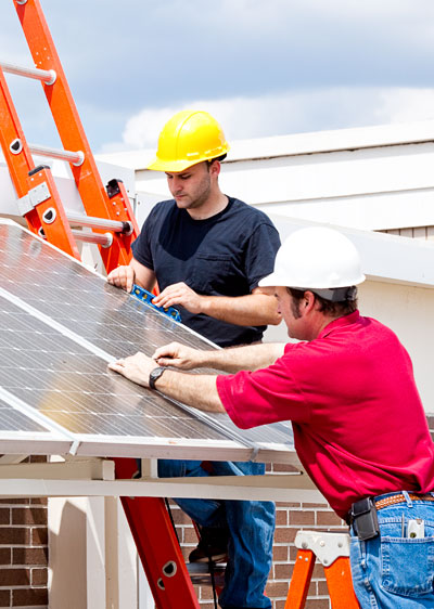 Installing solar PV on a home