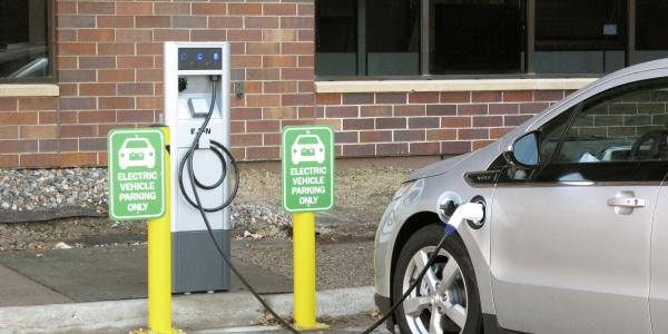 Mankato electric vehicle (EV) charger