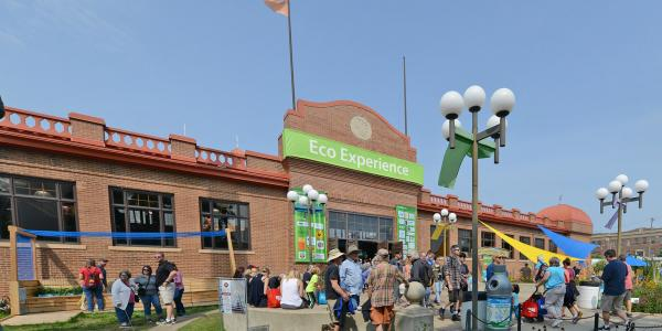 Eco Experience building at the Minnesota State Fair