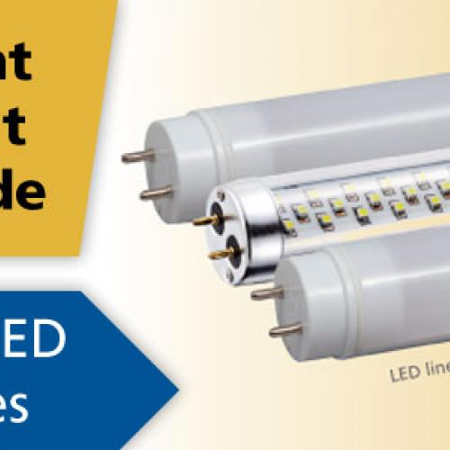 CERTs Right Light Guide for LED Tube Lights