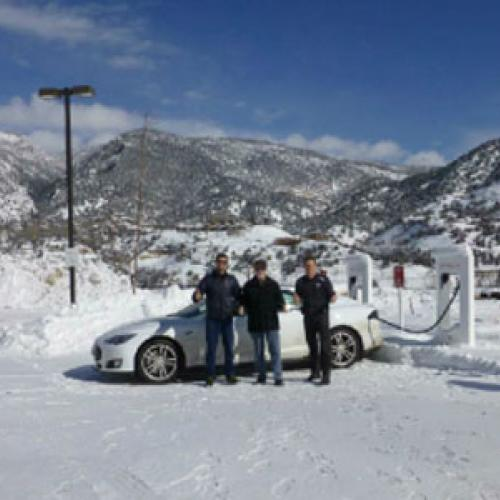 Road Trip from Minnesota to California in a Tesla Model S