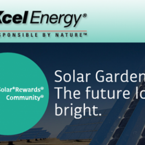 Xcel Energy Solar*Rewards Community Program