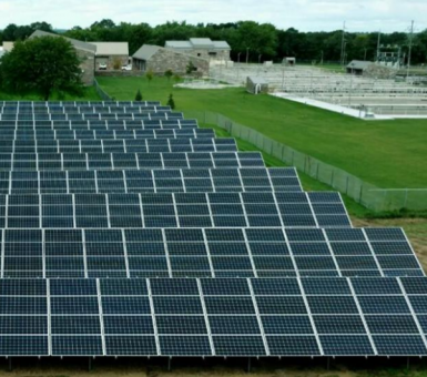 Saint Cloud solar installation
