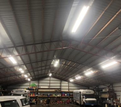 led lighting in garage