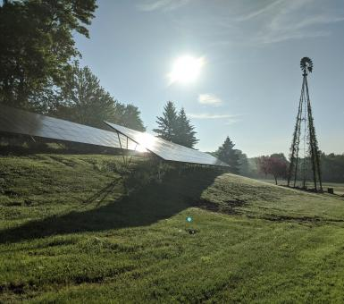 solar and pump