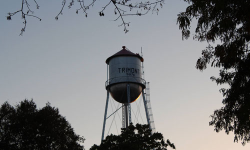 City of Trimont water tower