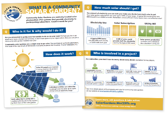 Download CERTs Guide to Community Solar Gardens